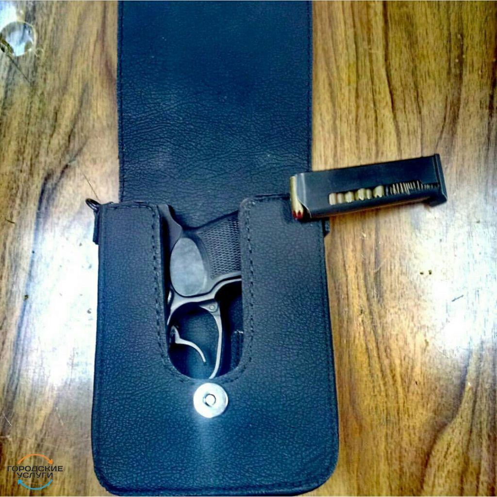 Впервые в Краснодаре шью сумки под оружие ПМ скрытого ношения,чехлы на телефон,ремешки на часы